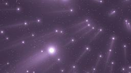 Violet Flood Lights Disco Music Background stock footage