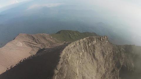 Kerinici Volcano 17 stock footage