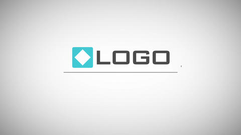 Minimal Line Logo Reveal Business Text Titles Animated Business Card After Effects Template