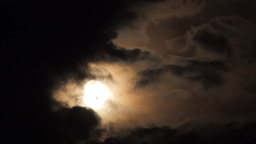 Time lapse of the Moon Footage
