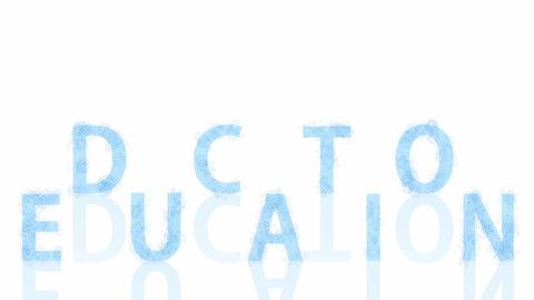 Education Concept Background Live Action
