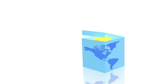 Global Economy Concept Background 실사 촬영