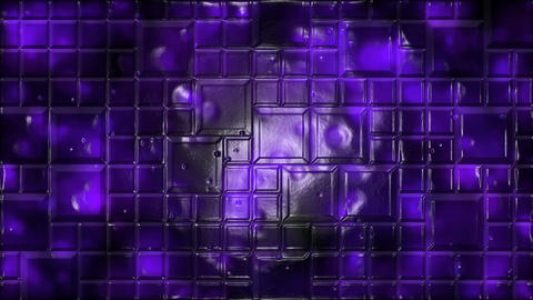 Abstract Tiled Background Animation - Loop Purple Animation
