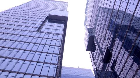 Skyscrapers in Seoul, Korea Live Action