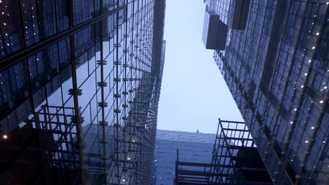 Skyscrapers in Seoul, Korea Footage