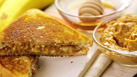 Peanut butter sandwich Live Action
