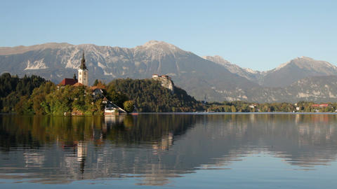 Lake Bled, Slovenia Footage