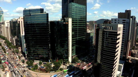Landscape of Seoul, Korea Live Action