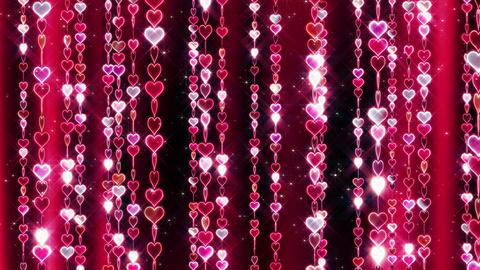 Chain line Heart 2 Rf Hs 4 K CG動画素材