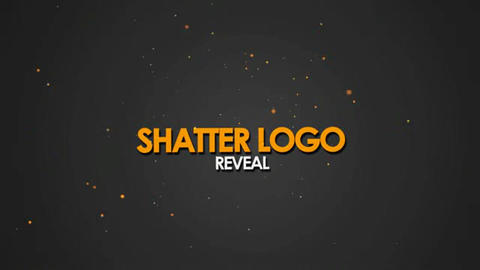 Shatter Logo Reveal After Effects Template