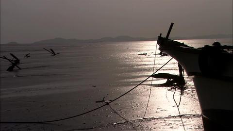 Seascape of Incheon-si, Korea 실사 촬영