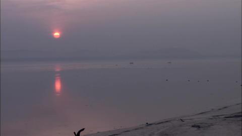 Seascape of Incheon-si, Korea Footage