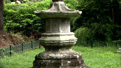 Traditional Temple in Gokseong-gun, Jeollanam-do, Korea Footage