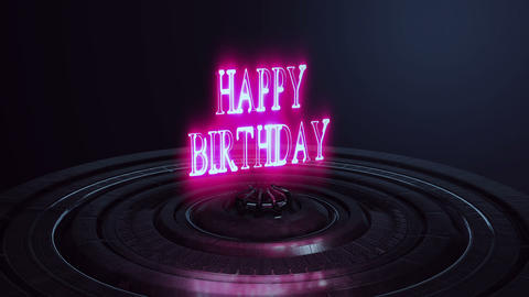[Title]Happy Birthday[3D] Animation