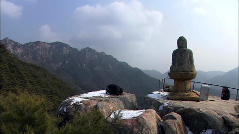 Landscape of Changnyeong-gun, Gyeongsangnam-do, Korea Footage