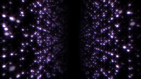 LED Light Space Hex 4p A HD Stock Video Footage