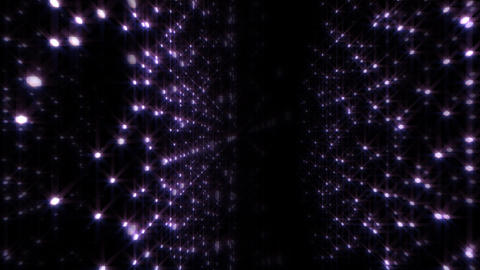LED Light Space Hex 4p C HD Stock Video Footage