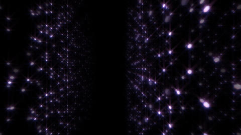 LED Light Space Hex 4p E HD Stock Video Footage