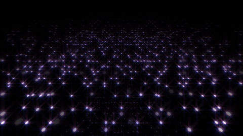 LED Light Space Hex 4q E HD Stock Video Footage