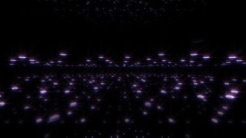 LED Light Space Hex 4u E HD Stock Video Footage