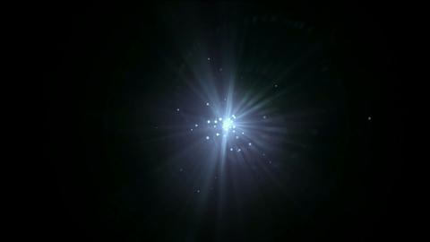 rays laser & dots in universe Stock Video Footage