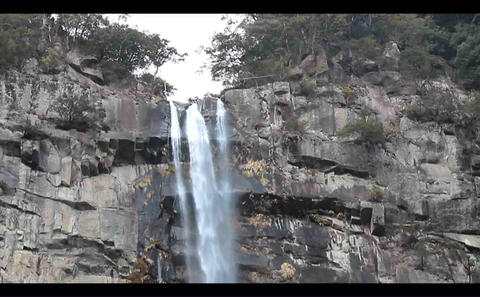 nachi falls-2 Stock Video Footage