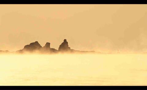 sea fog Stock Video Footage
