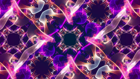 Kaleidoscope5 - video background loop Stock Video Footage