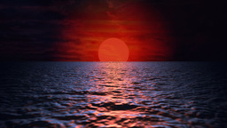 Sea Sunset - video background loop Animation