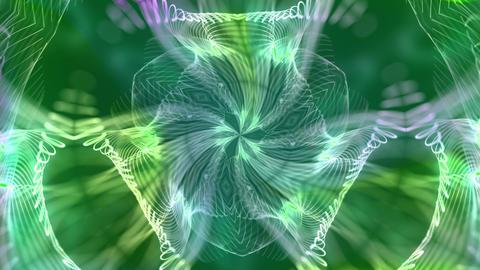 Kaleidoscope4 - video background loop Stock Video Footage