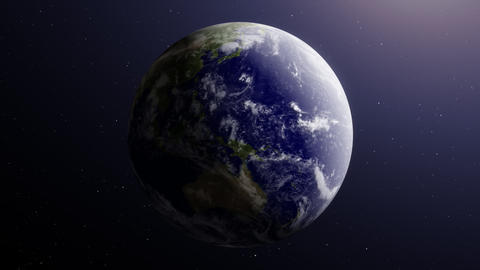 Earth5 - video background loop Stock Video Footage