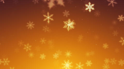 Snowy 4 - Snow / Christmas Video Background Loop Stock Video Footage