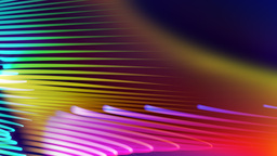 Spirona - Moving And Bending Colorful Strokes Video... Stock Video Footage