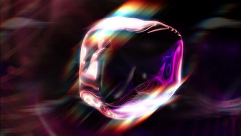 Syko - Mysterious Glamorous Orb-like Video Background Loop Stock Video Footage