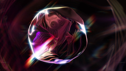 Syko - Mysterious Glamorous Orb-like Video Background Loop Stock Video Footage
