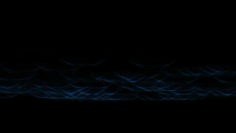 rolling waves energy lines Stock Video Footage