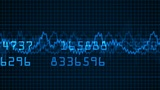 stock business market & share price numbers,stock market trend analysis soft Animation