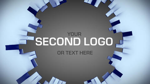 UNFOLDING LOGO REVEAL After Effects Template