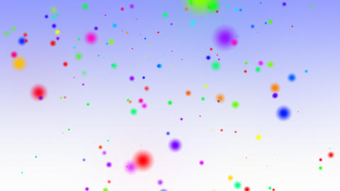 Falling Confetti Particles Animation Stock Video Footage