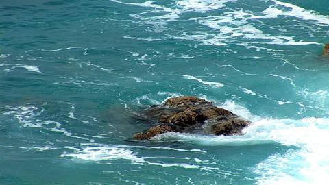 hard waves 2 Stock Video Footage