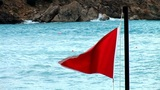 Red Flag 1 stock footage