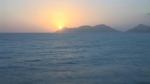sunset warm lapse 1 Footage