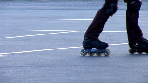 roller 5 Stock Video Footage