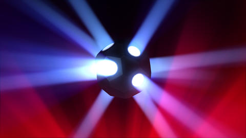 Disco Ball light A Bc HD Stock Video Footage
