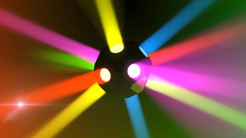 Disco Ball light A Cc HD Stock Video Footage