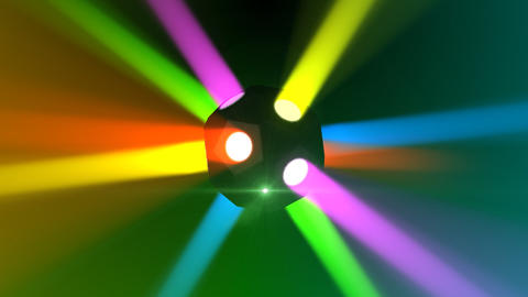 Disco Ball light A Cc HD Animation