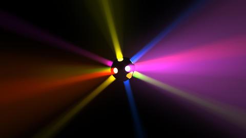 Disco Ball light B Cc HD Stock Video Footage