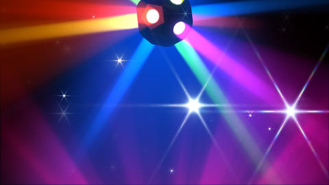 Disco Ball light C Cc HD Stock Video Footage