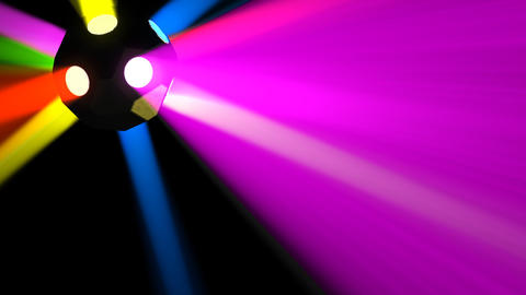 Disco Ball light E Cc HD Stock Video Footage