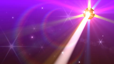 Disco Ball light F Cc HD Stock Video Footage